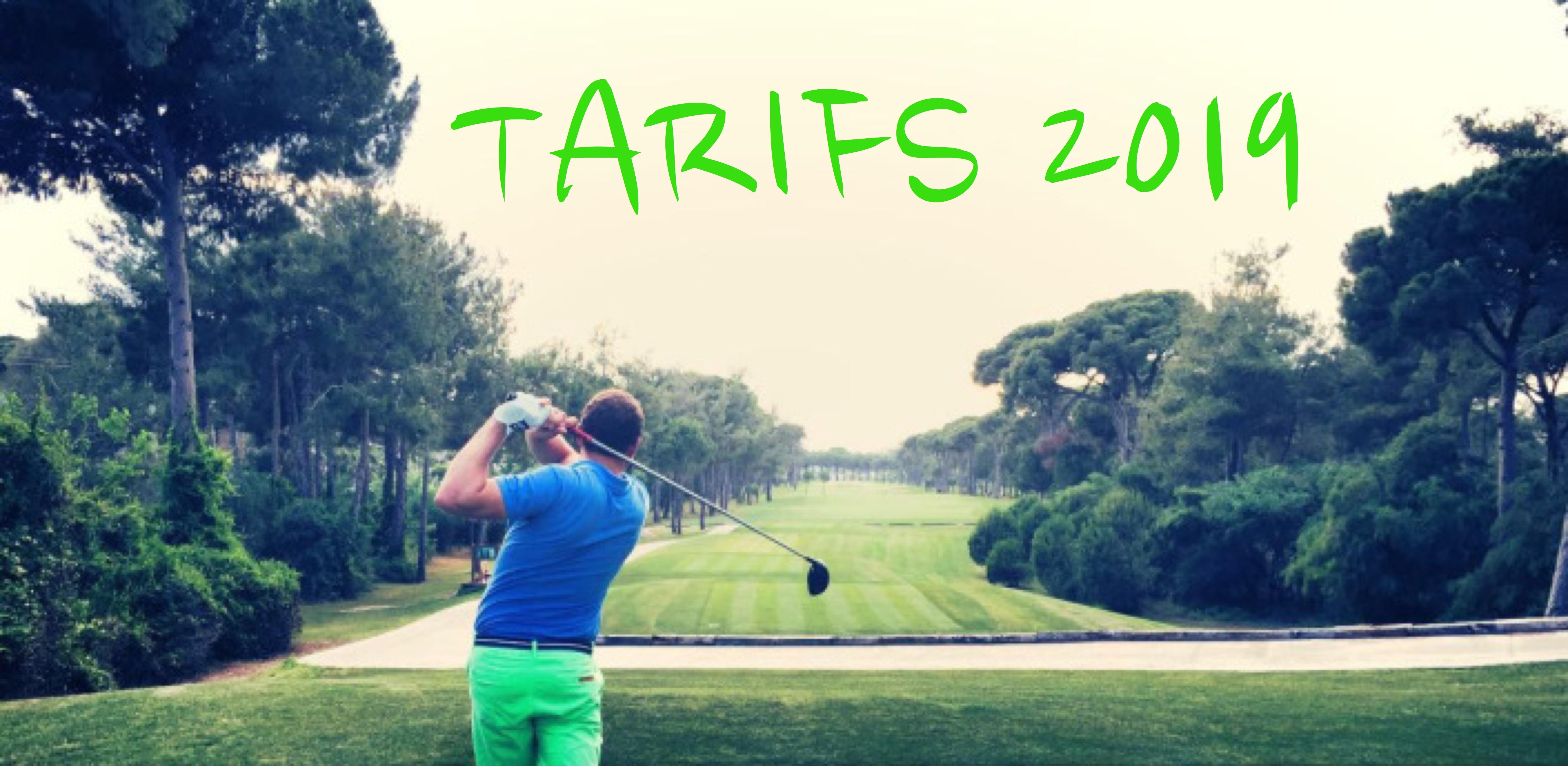 Photo tarifs 2019